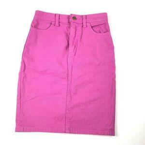 American Apperal Jeans pencil skirt XS denim